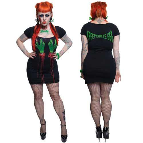 Kreepsville zombie tunic dress