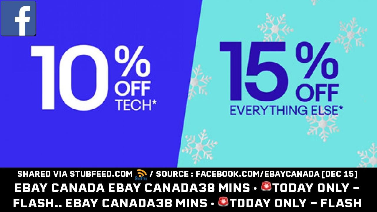 Ebay Canada Ebay Canada7 Hrs Today Only New Publication In
