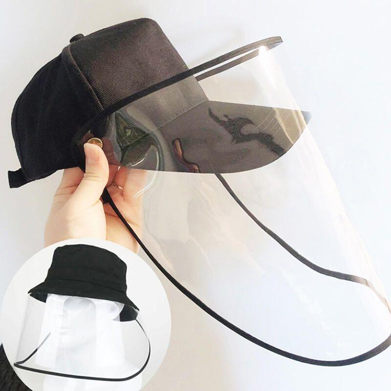 Baseball Cap With Removable Flip Up Visor Shield Face Shield Masks Visor Face Shield