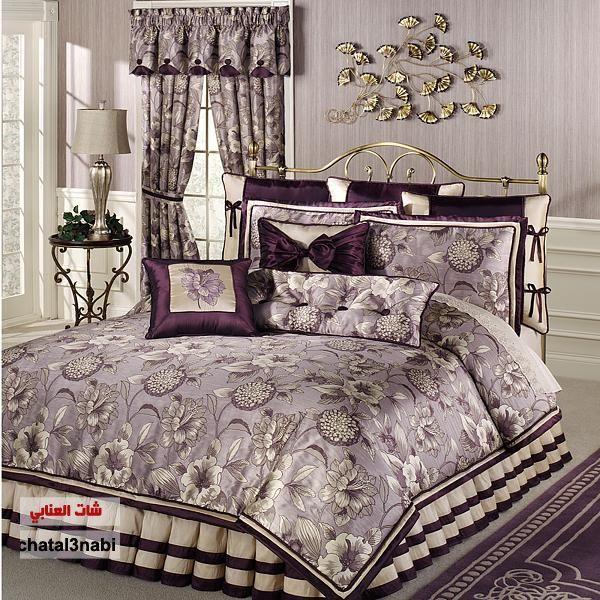 مفارش سرير سورية اجود انواع المفروشات مفروشات غرف نوم مفارش سرير النوم طقم مفارش Img 136 Bedroom Comforter Sets Bedding Sets Master Bedroom Comfortable Bedroom