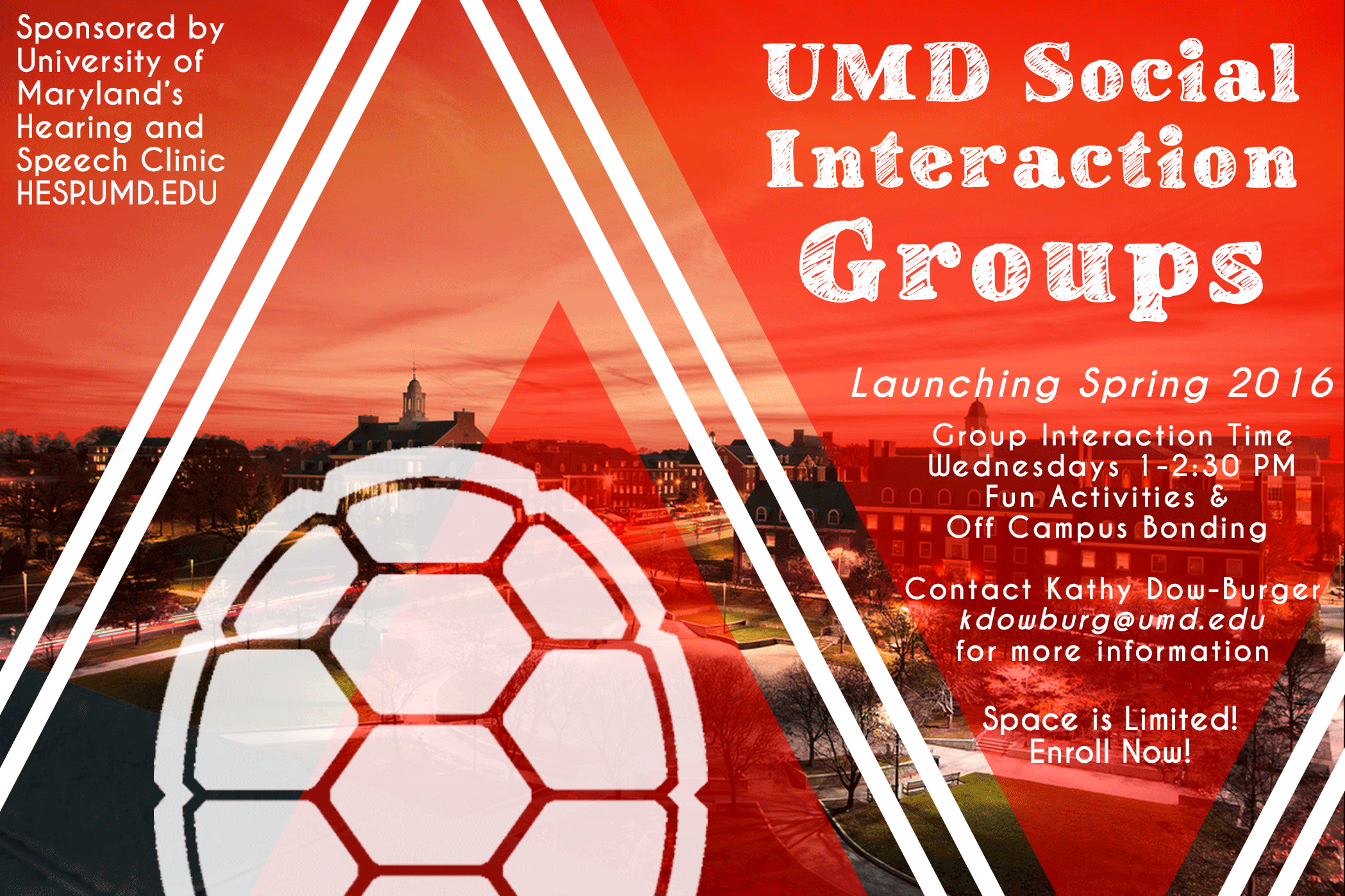 Social interactions groups for UMD students with high functioning