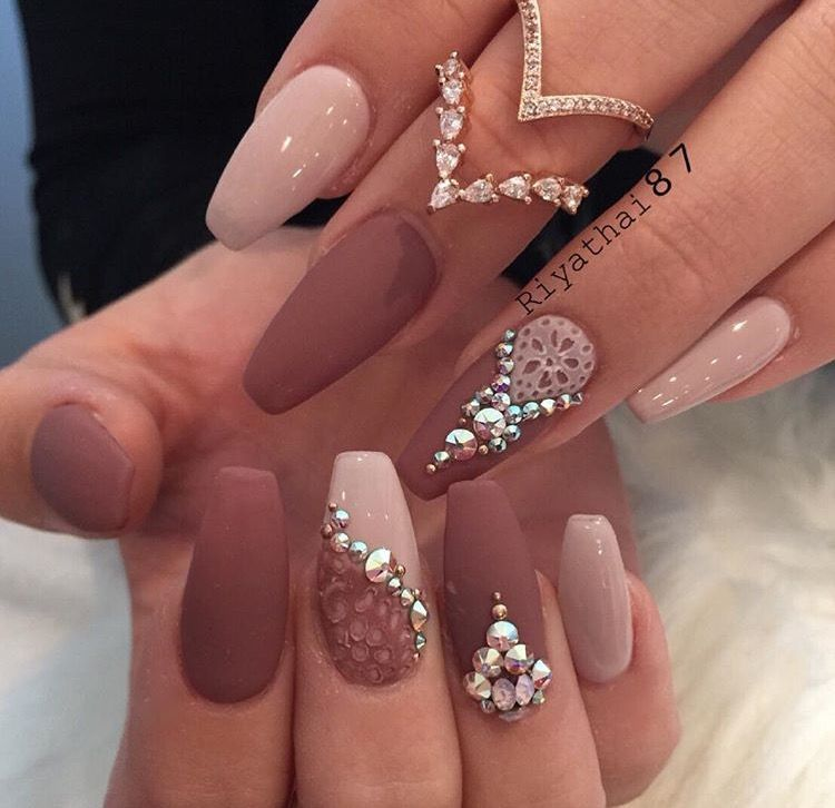 Crazy nails - Theodora ❤❤ Nails❣❣ Pinterest Claw Nails, Coffin Nails And