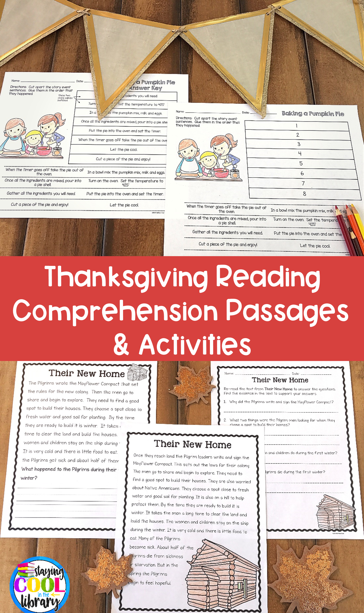 Thanksgiving Reading Comprehension Passages And Activities Thanksgiving Reading Comprehension Reading Comprehension Passages Comprehension Passage [ 2520 x 1500 Pixel ]