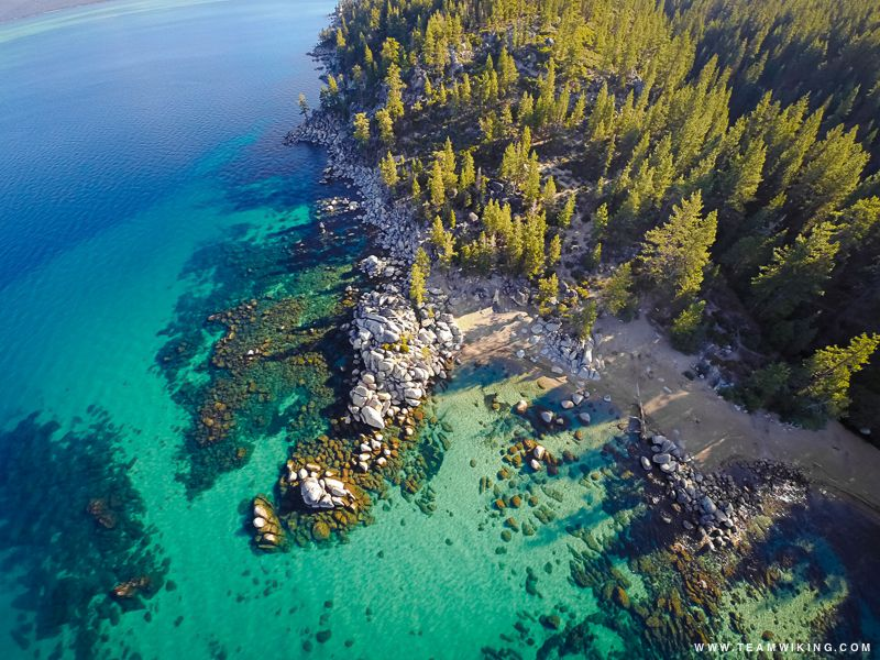 Chimney Beach Lake Tahoe Nevada We Kayaked In There Lovely