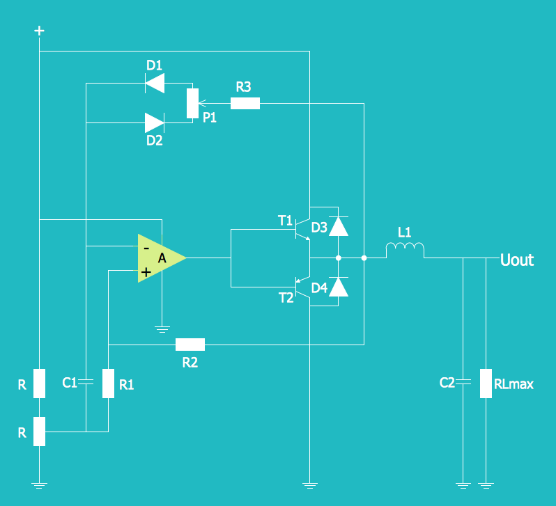 Electrical Diagram — Simple Switched Supply | Engineering ...