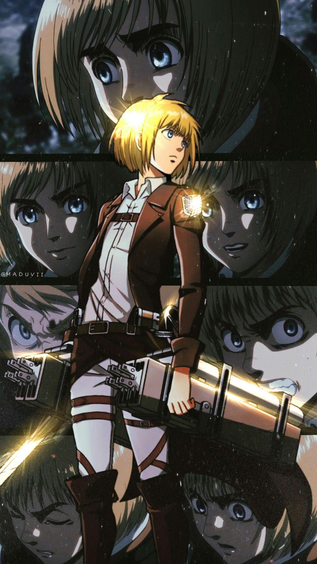 Armin Attackontitan Season3 Attack On Titan Anime Anime Attack On Titan Jean