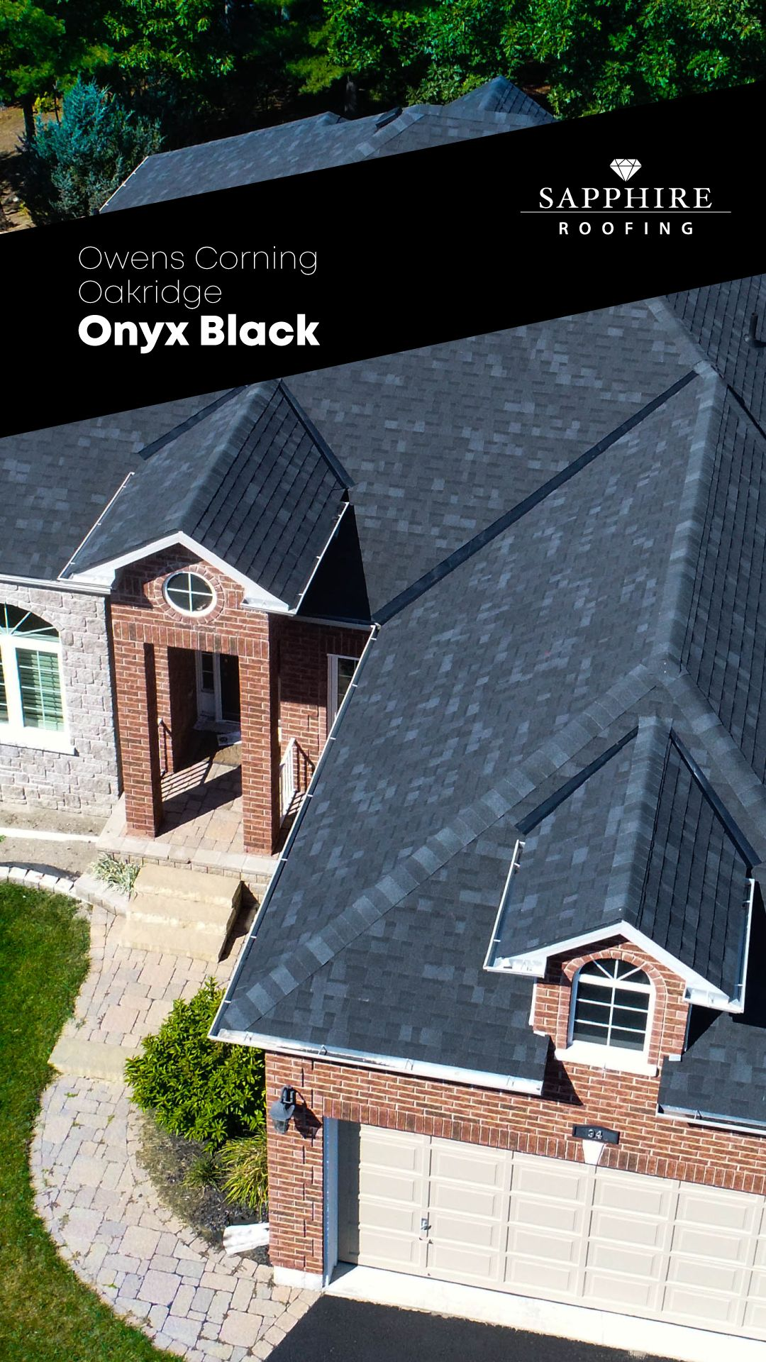 Best Sapphire Roofing® Shingle Roofing Owenscorning Oakridge 400 x 300