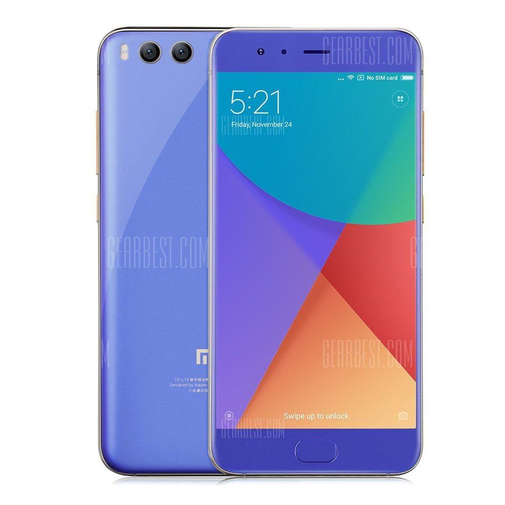 Xiaomi Mi 6 4g Smartphone 4gb Ram Blue 282 48 Chinatech Coupon De Reduction Bons Plans Produits