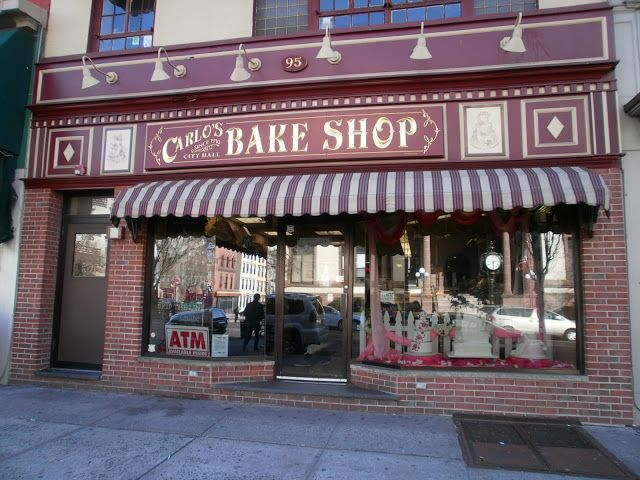 Get a cake from Carlo's Bakery in Hoboken, NJ Been there, done that, the cannoli's are AMAZING!