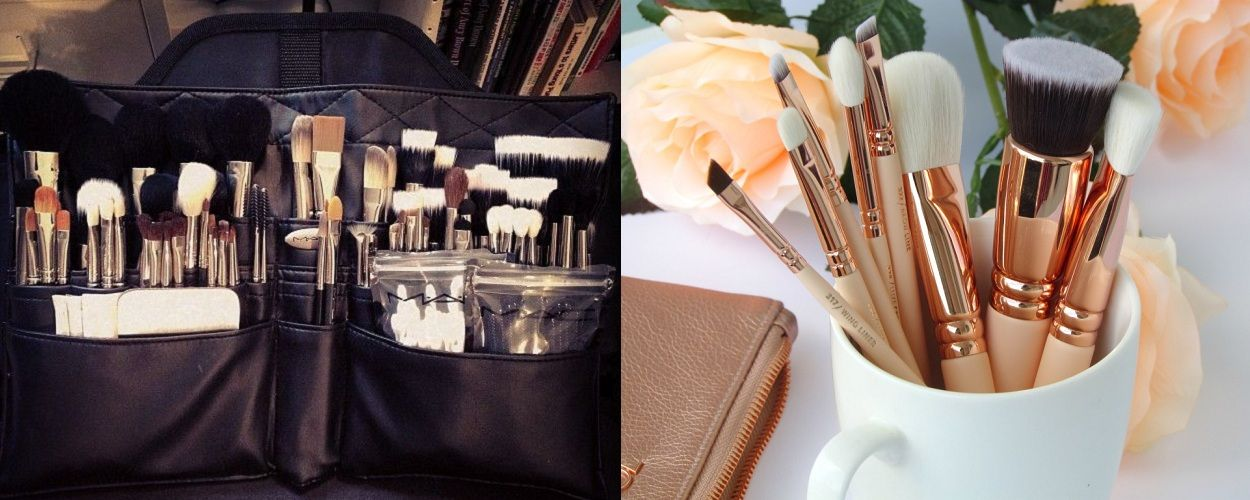16 Different Types of Makeup Brush Types of makeup
