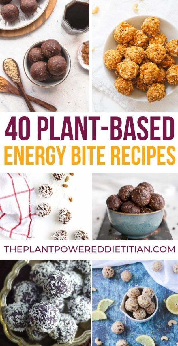 40 PLANT-BASED ENERGY BITE RECIPES