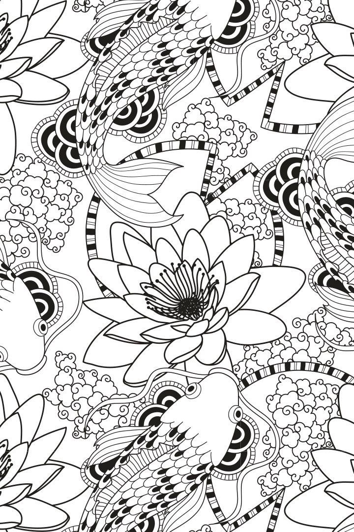 Mandala descargable para colorear 1 | Coloring & Drawing | Pinterest ...