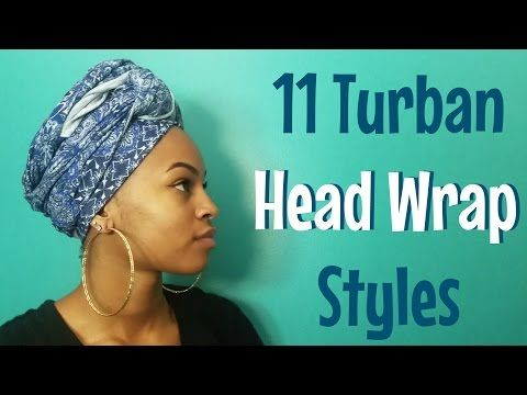 Pin On Head Wraps
