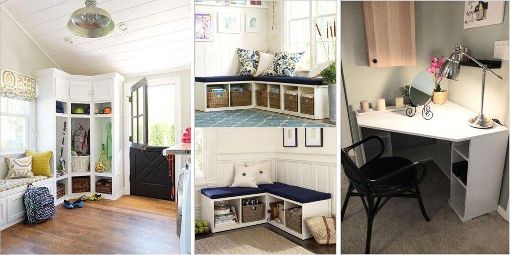 10 Clever Corner Storage Ideas for Your Home | House | Pinterest ...