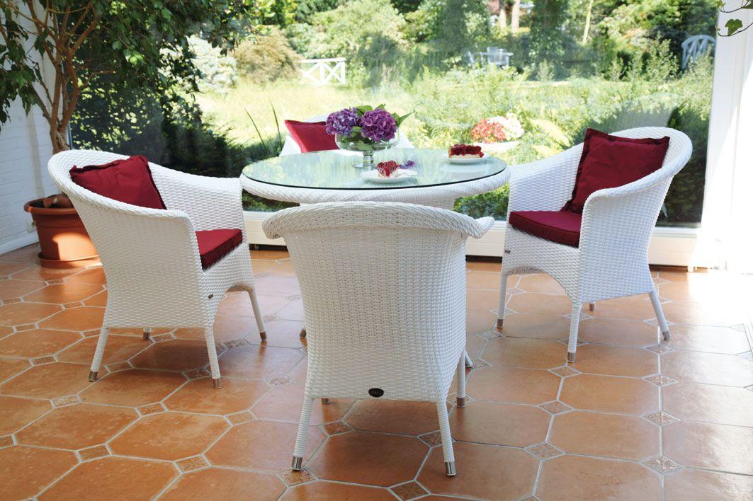 Nett Weisse Gartenmöbel Polyrattan