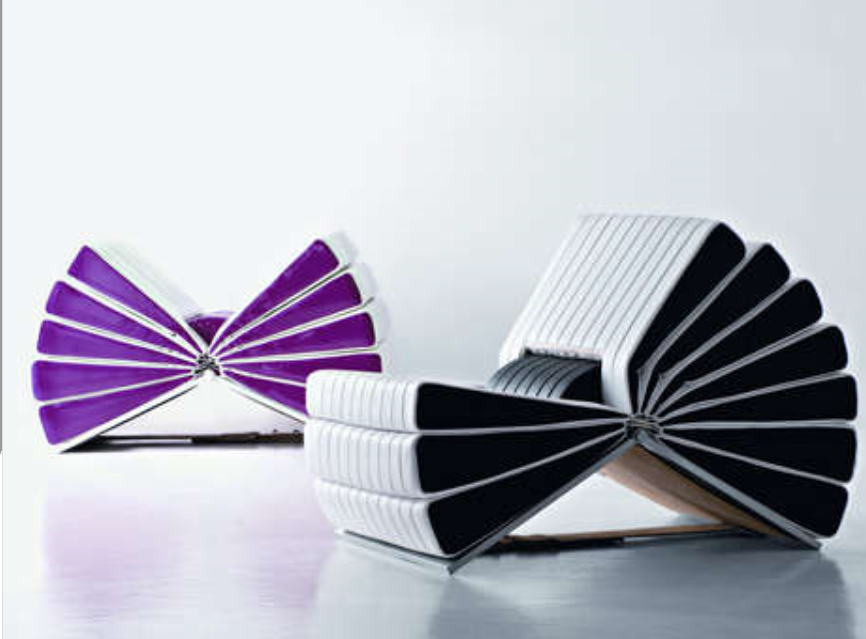 Attractive Book Inspired Adjustable Chairs Photo