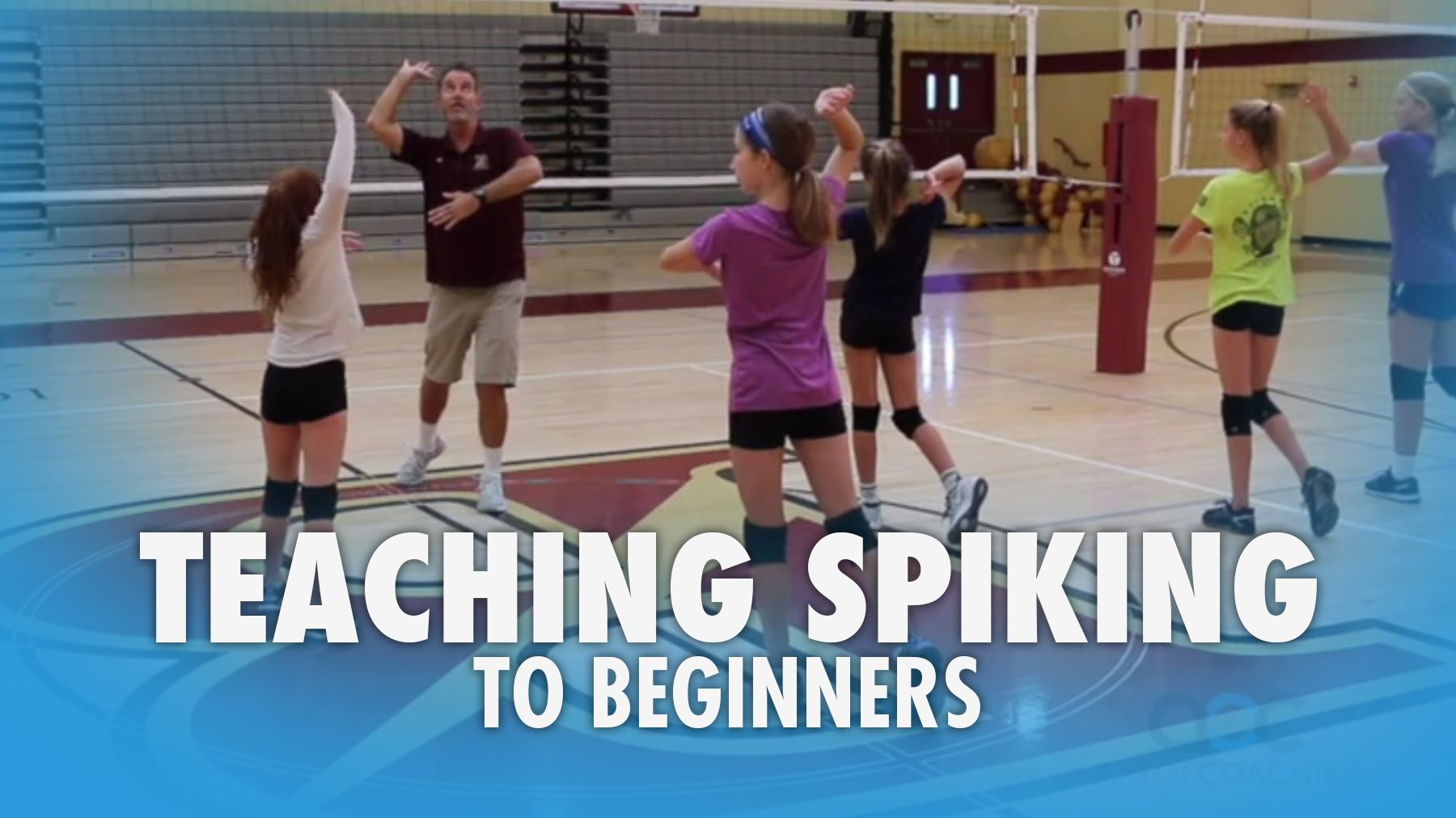 Teaching Spiking To Beginners Intermediates The Art Of Coaching Volleyball Volleyball Skills Coaching Volleyball Youth Volleyball