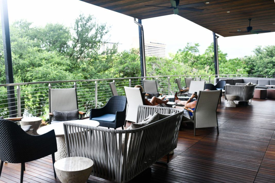 Best reading spots in austin texas the lawn at the four