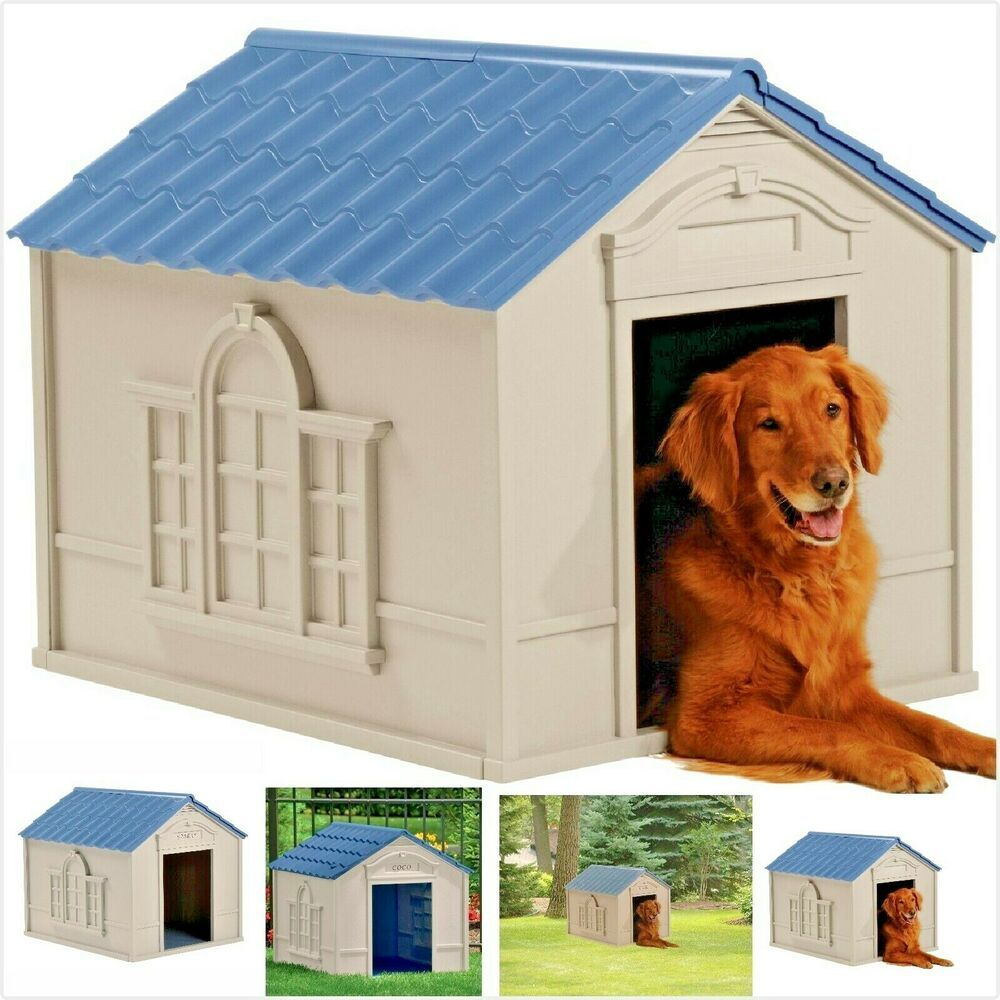 Xxl Dog Kennel For Xl Dogs Outdoor Pet House Cabin Insulated Walls