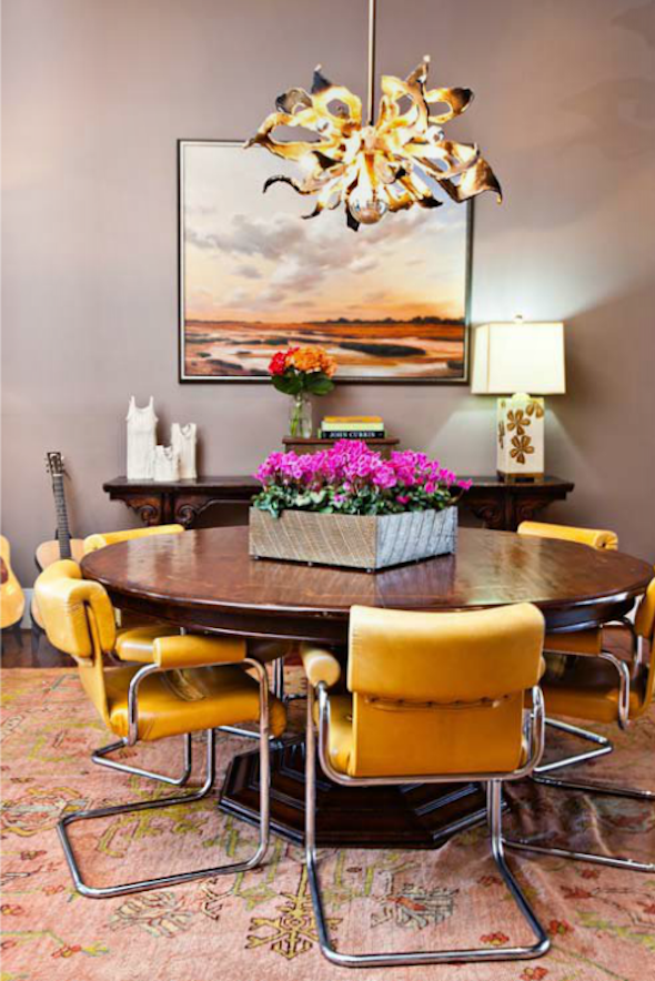 Retro mix | I love yellow | Pinterest | Retro dining rooms, Modern ...
