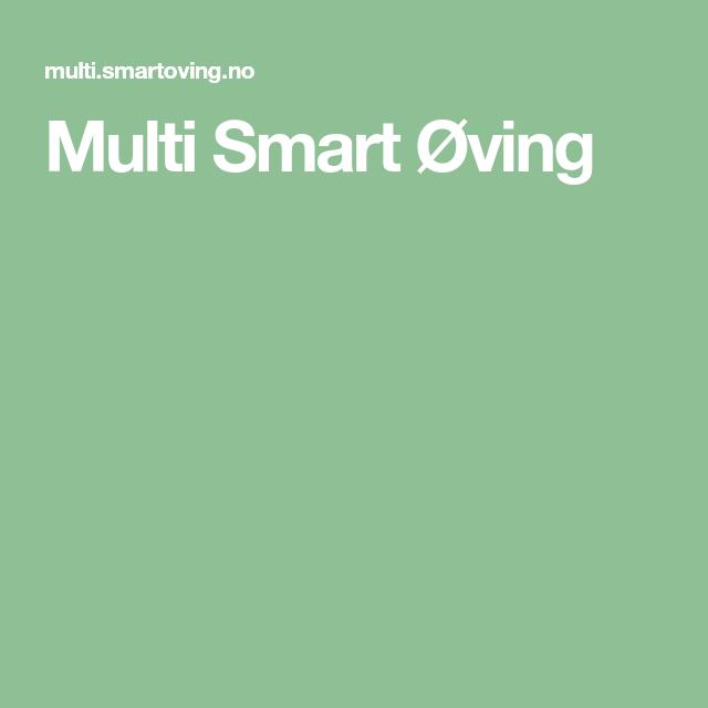 Multi smart øving