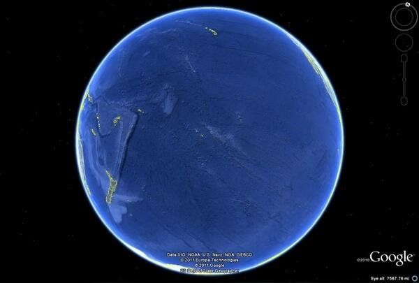 Pacific Ocean is bigger than you thought SciencePorn (@SciencePorn) | Twitter