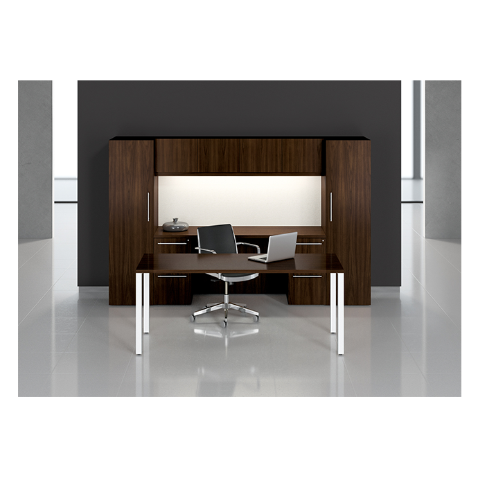 Introducing Artemis - a sleek and lightly scaled desking system for smaller private office footprints, with the richness and presence of hand-made executive office furniture. Consult our Design Team for additional layout options at 888.618.2010 and receive a Complimentary Space Planning Consultation.