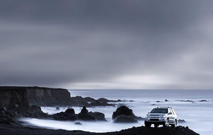 Infiniti Black Sand Beach