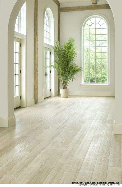 light wide plank floor, Helpful tips on creating the White Wash Finish on your