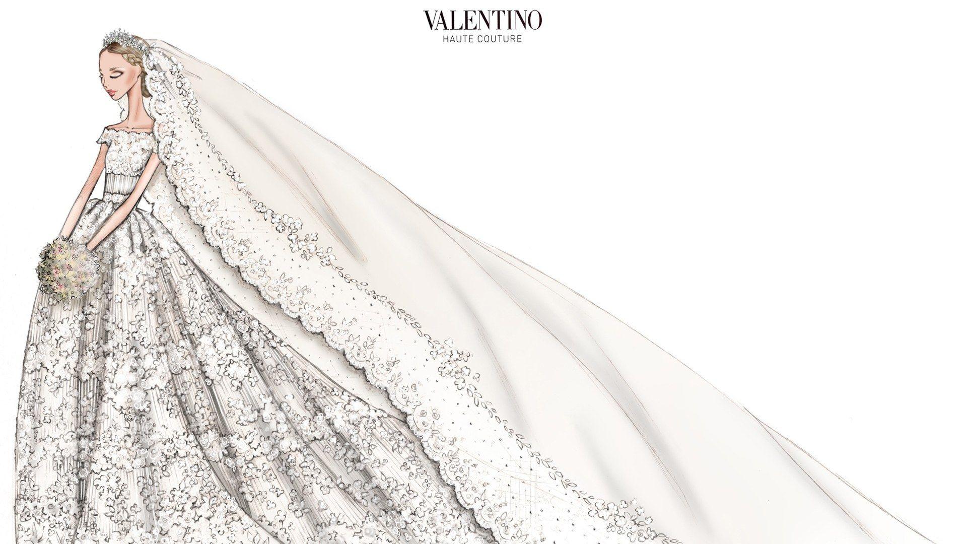 Das Brautkleid von Prinzessin Madeleine von Schweden
