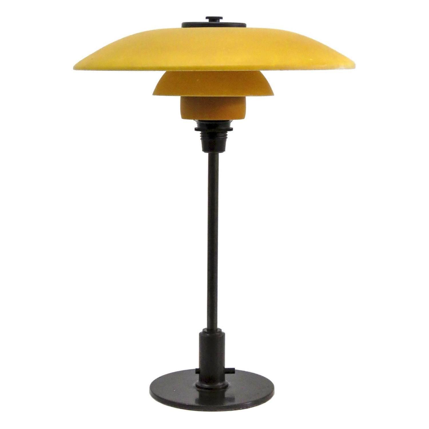 Rare Poul Henningsen PH 3½-2 Table Lamp, 1930 | From a unique collection of antique and modern table lamps at…