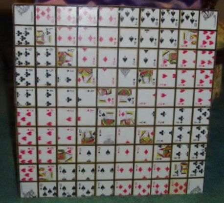 Build Your Own Sequence Board Game