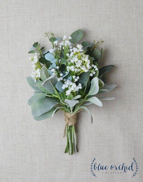 Photo of Bridesmaid Bouquet, Wedding Flowers, Silk Bridesmaid Bouquet…