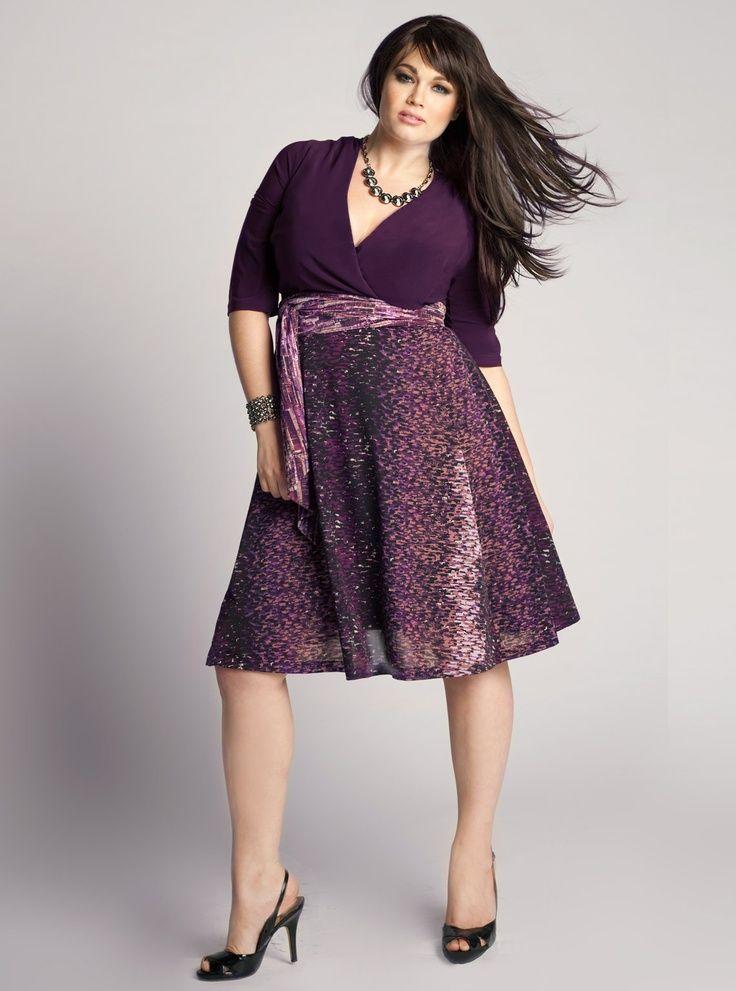 Vestido coctel | TALLAS GRANDES - Moda | Pinterest | Vestiditos ...
