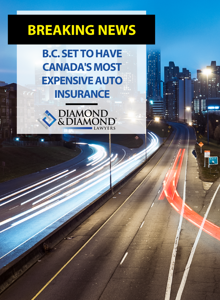 B.C. set to have Canada's most expensive auto insurance