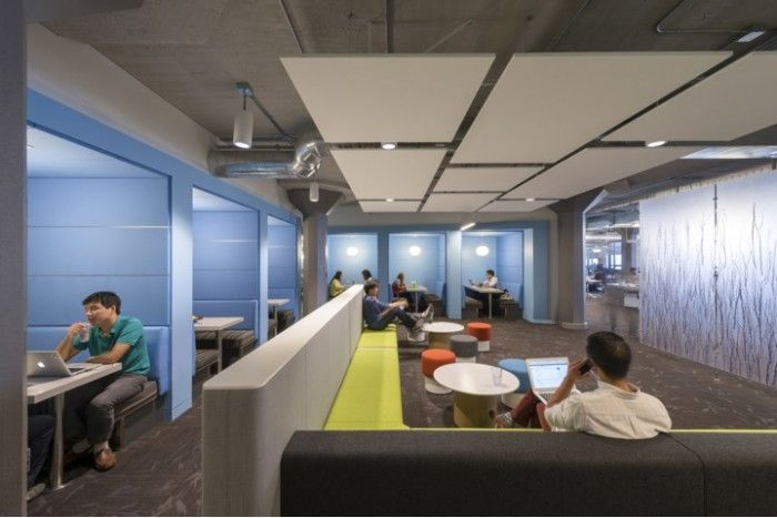 Twitter hq san francisco furnished with benes parcs causeway and parcs pop