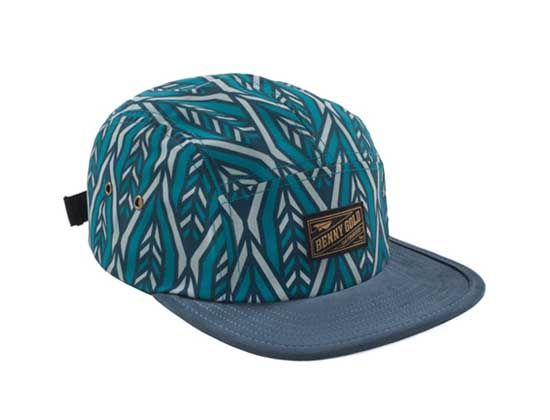 81042095ddf Arrow Pattern 5 Panel Cap by BENNY GOLD Five Panel Cap