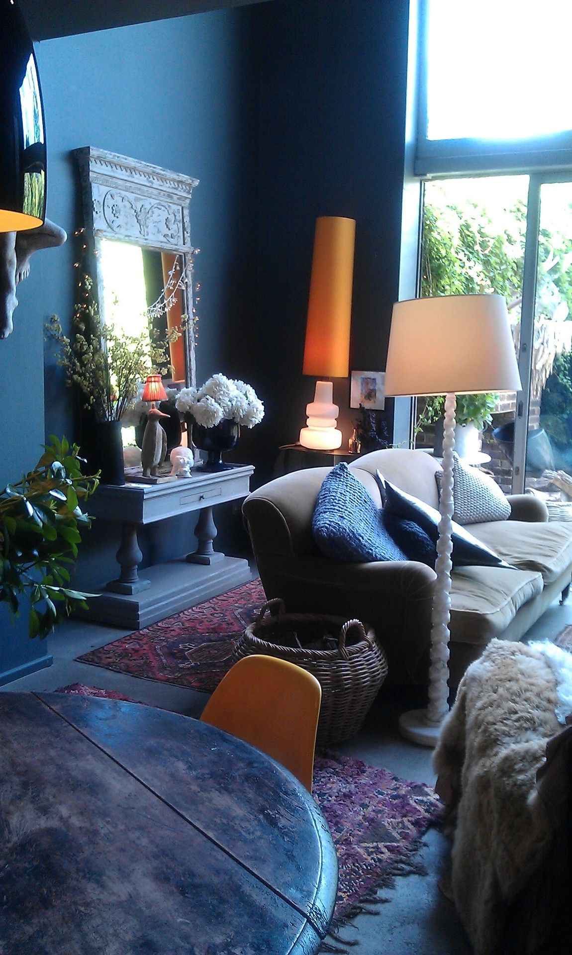 Dark Living Room Ideas: At The Corner Down The Street