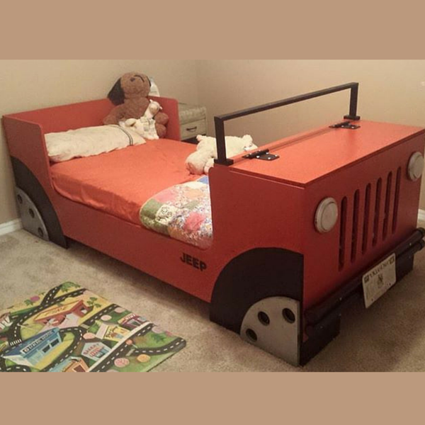 Jeep Bed Frame Google Search Diy Bunk Bed Kid Beds Bunk Bed
