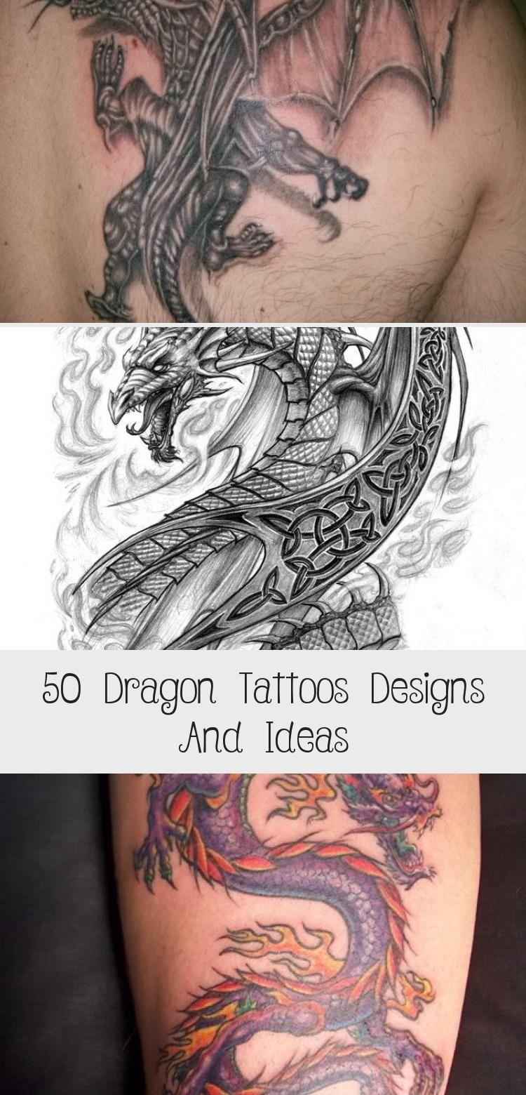 Photo of 50 Dragon Tattoos Designs und Ideen – Tattoos