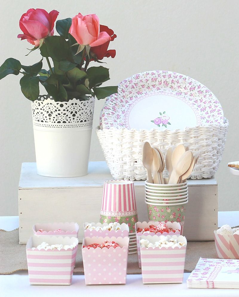 Mesa dulce shabby chic para fiestas de ni as ideas - Comprar decoracion vintage ...