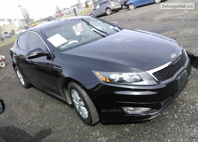 2012 Kiaoptima For Sale At Salvage Cars Auction In Bergen Ny