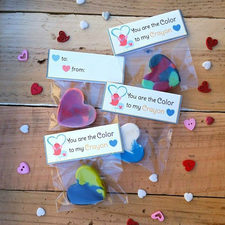 Crayon Heart Valentine and Free Printable ~ One Crazy Ride #crayonheart Crayon Heart Valentine and Free Printable ~ One Crazy Ride #crayonheart