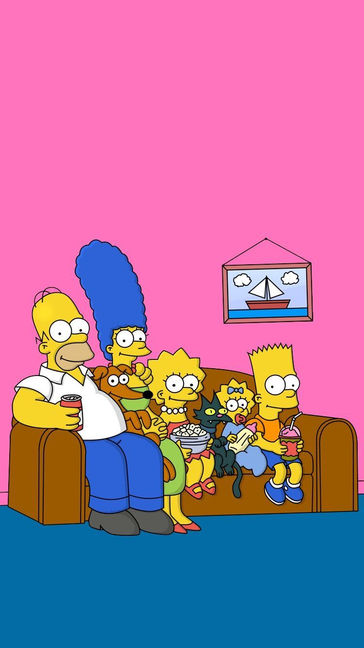 Pin by 𝕷𝖊𝖘𝖑𝖎𝖊 on Wallpaper | Simpson wallpaper iphone ...