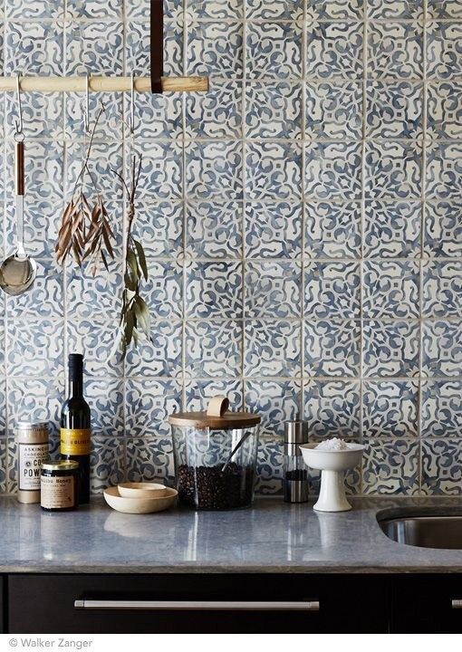 I Have Been On The Hunt For Amazing Cement Tile Also Known As Encaustic Tile For Kitchen Backsplash Designs Kitchen Tiles Backsplash Modern Moroccan Interior