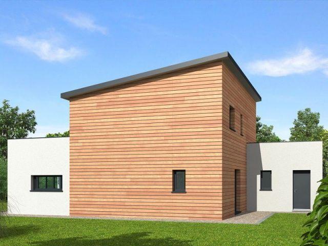 Une maison bois qui produit plus qu\u0027elle ne consomme House