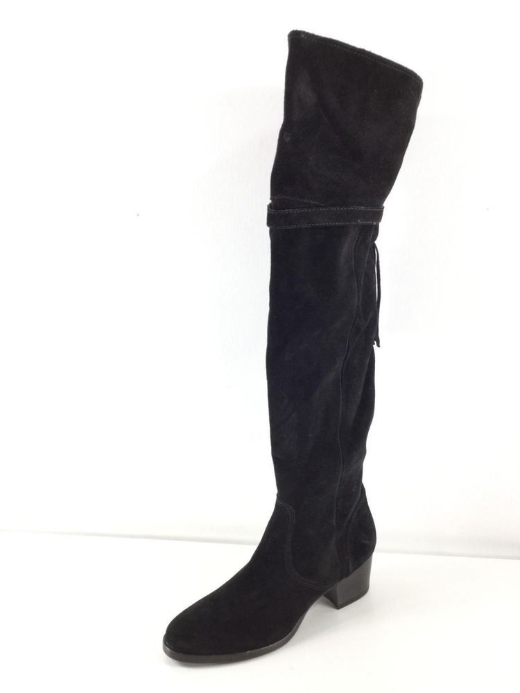 76f293ddfdd 75c NEW Frye Clara Black Suede Over The Knee Tassel Boots Women s Size 6 M   fashion  clothing  shoes  accessories  womensshoes  boots (ebay link)