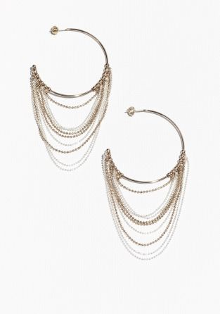 & Other Stories | Cascading Hoop Earrings