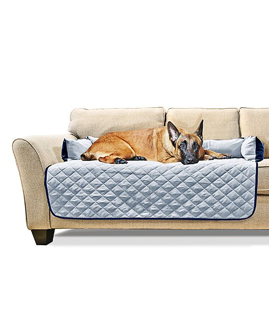 Strange Navy Light Blue Extra Large Sofa Buddy Pet Bed Furniture Frankydiablos Diy Chair Ideas Frankydiabloscom