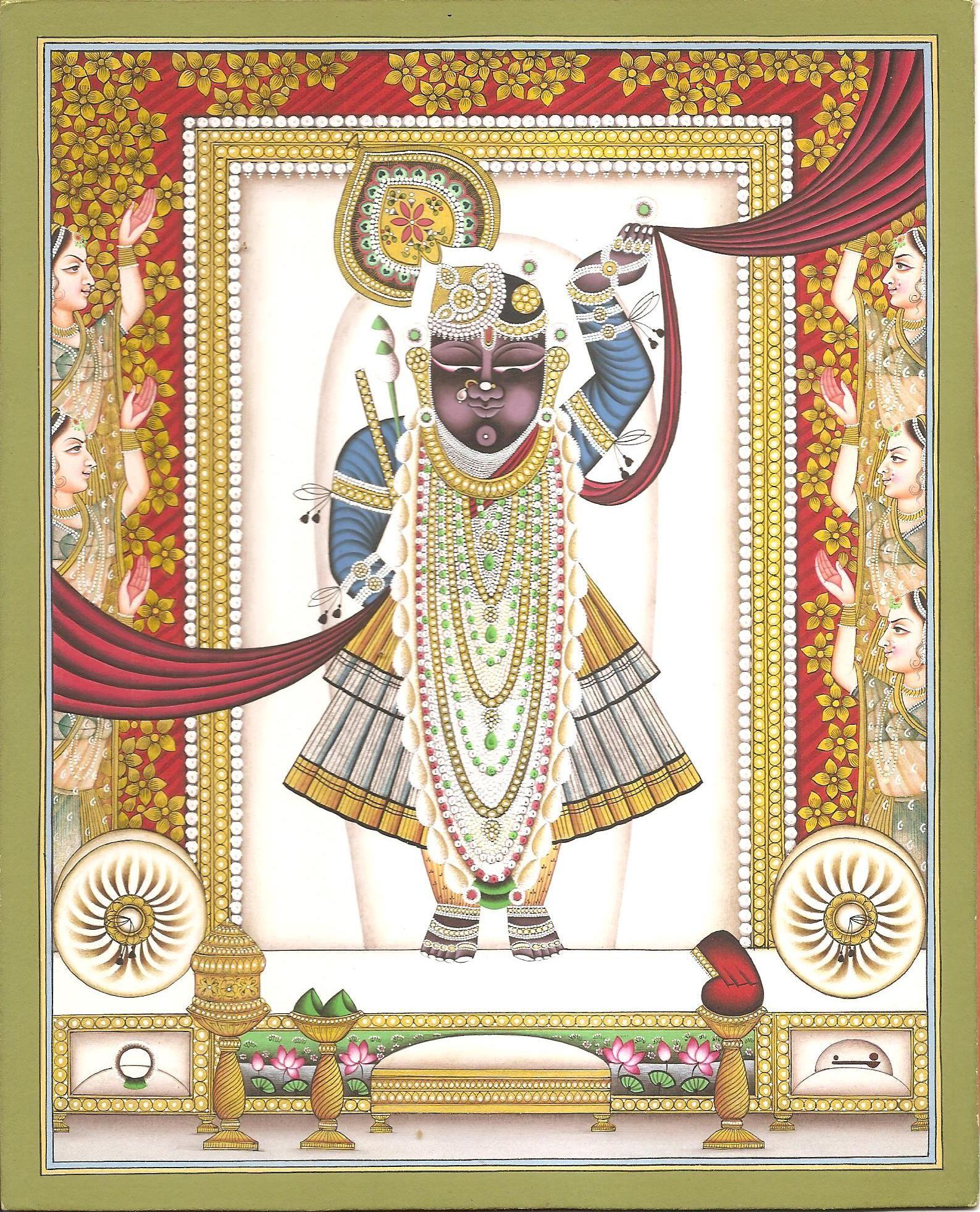 hindu god shrinathji